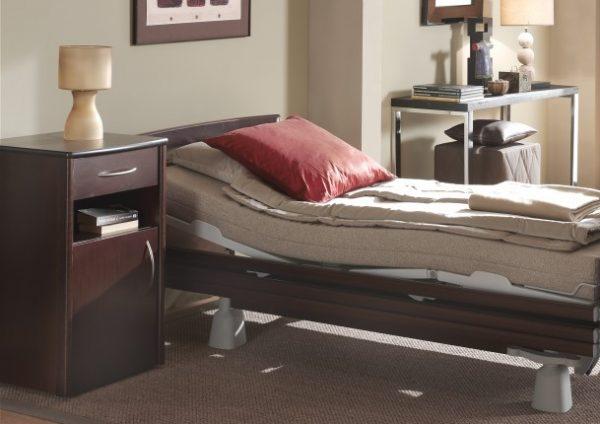 Noptiera pentru pat de spital ATLAS CARE