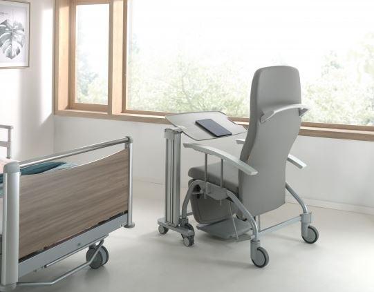 Masa de lectura pentru scaun sau pentru pat de spital LIVIA