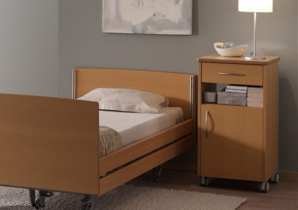 Noptiera pentru pat de spital Quadra Care