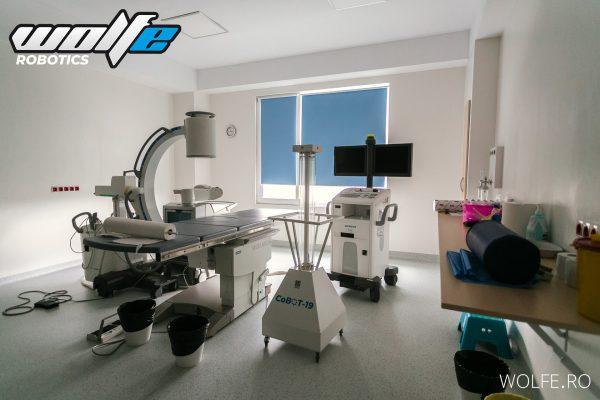 Sistem smart de dezinfectie cu radiatii ultraviolete CoBOT-19