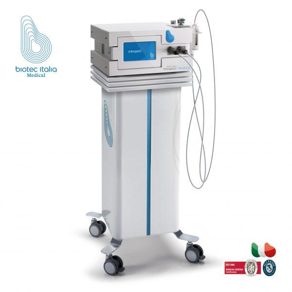 Dispozitiv pentru biostimularea si biorevitalizarea pielii BIOTEC 04 INTRAJECT