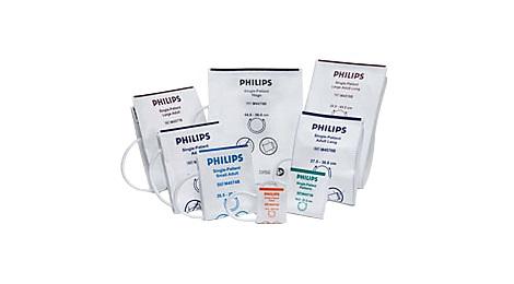 Manseta de tensiune de unica folosinta (10 buc/cutie) Gentle Care adult Philips M4575B / M4576B