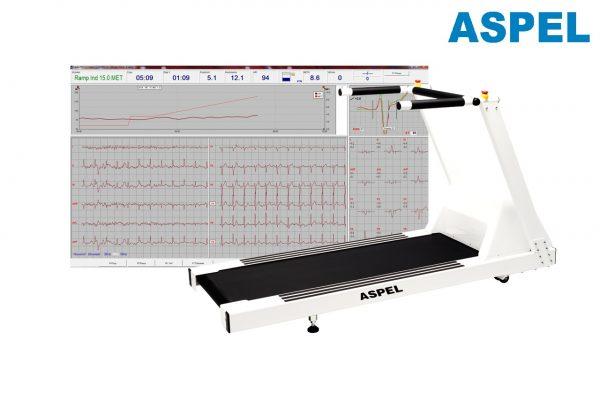 Sistem de testare la efort cu banda de alergare ASPEL CARDIOTEST-612 TRM v.702ALFA