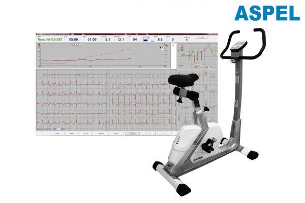 Sistem de testare la efort cu Cicloergometru ASPEL CARDIOTEST-601 CRG v.501ALFA