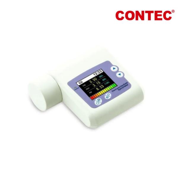 Spirometru portabil, reincarcabil cu Software si USB, CONTEC SP10
